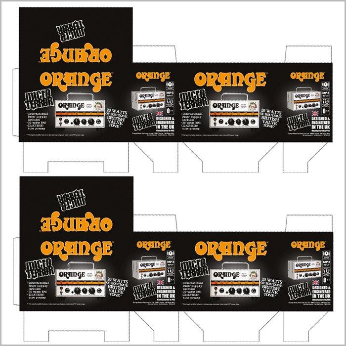 packaging design Orange Micro Terror