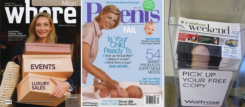 magazine mistakes