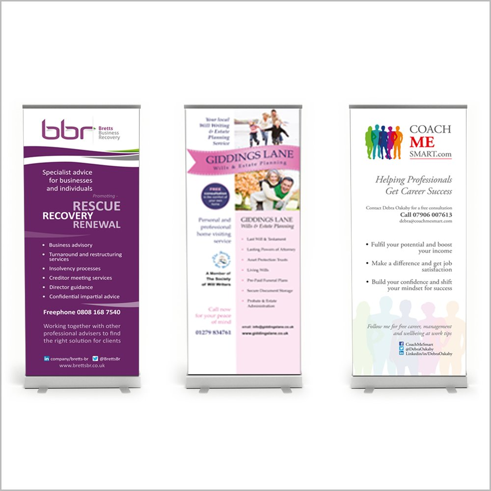 pull-up roller banners 2