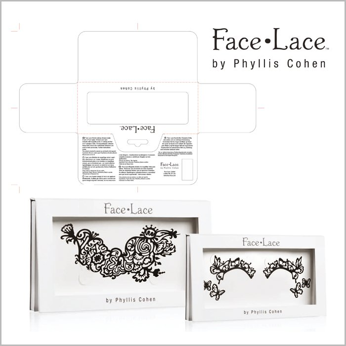 packaging design Facelace