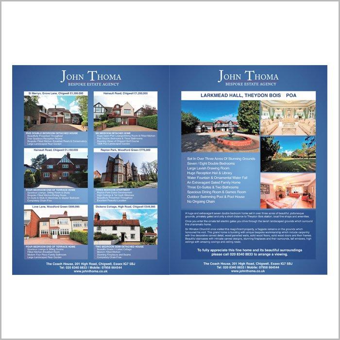 advertising design work John Thoma