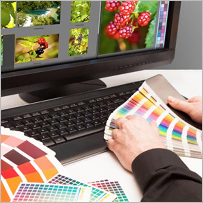 printing services - pantone