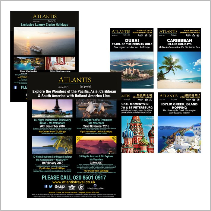 advertising design work atlantis