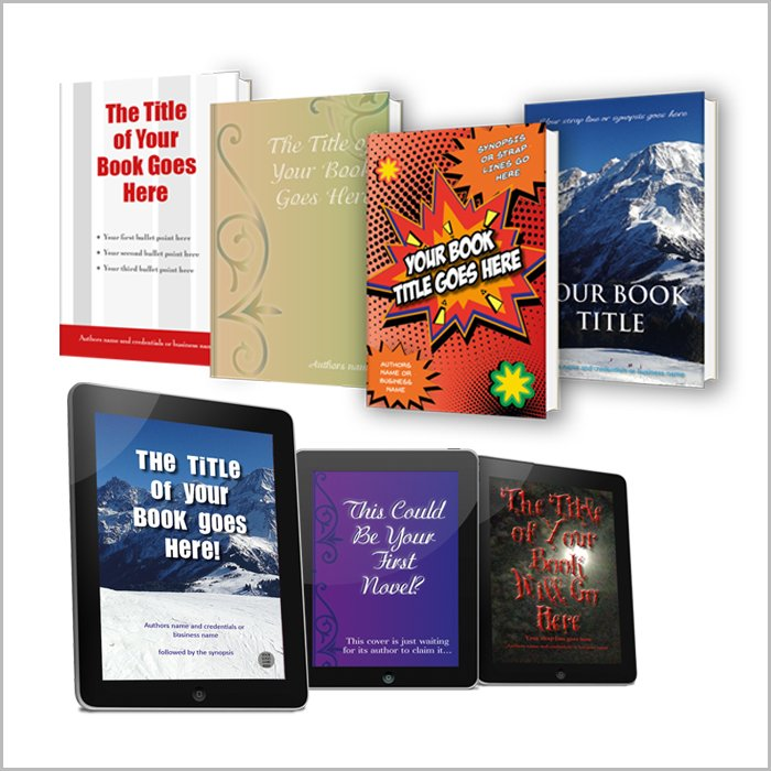 book design ebooks covers