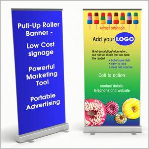 pull-up roller banner