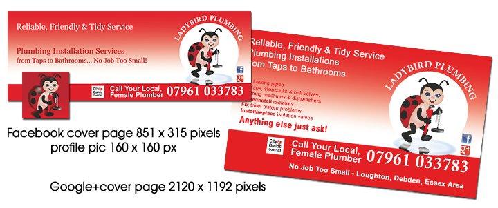 ladybird social media banners