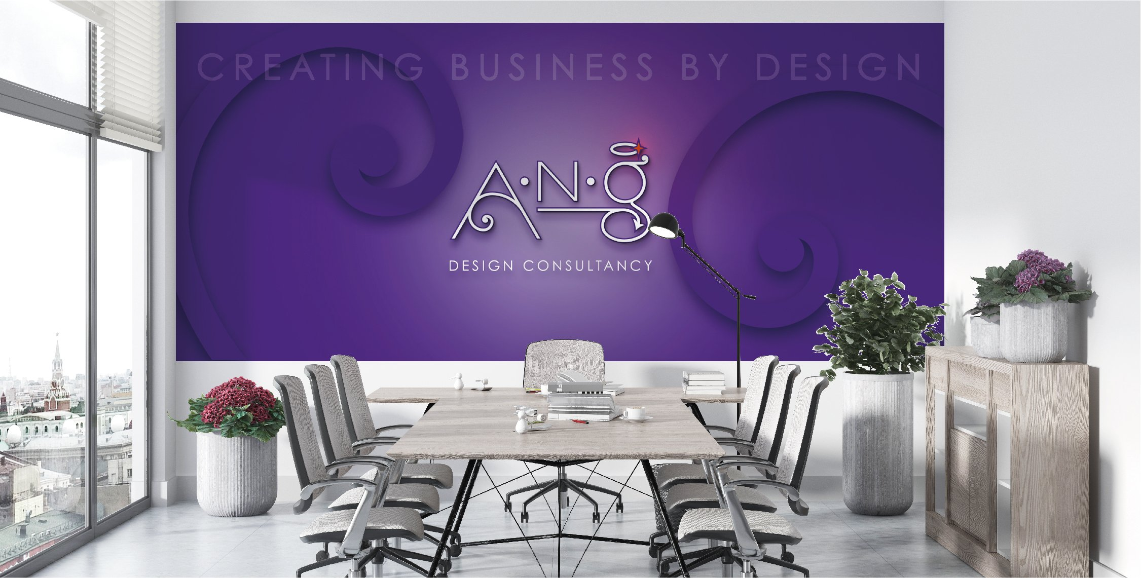 business wall graphics