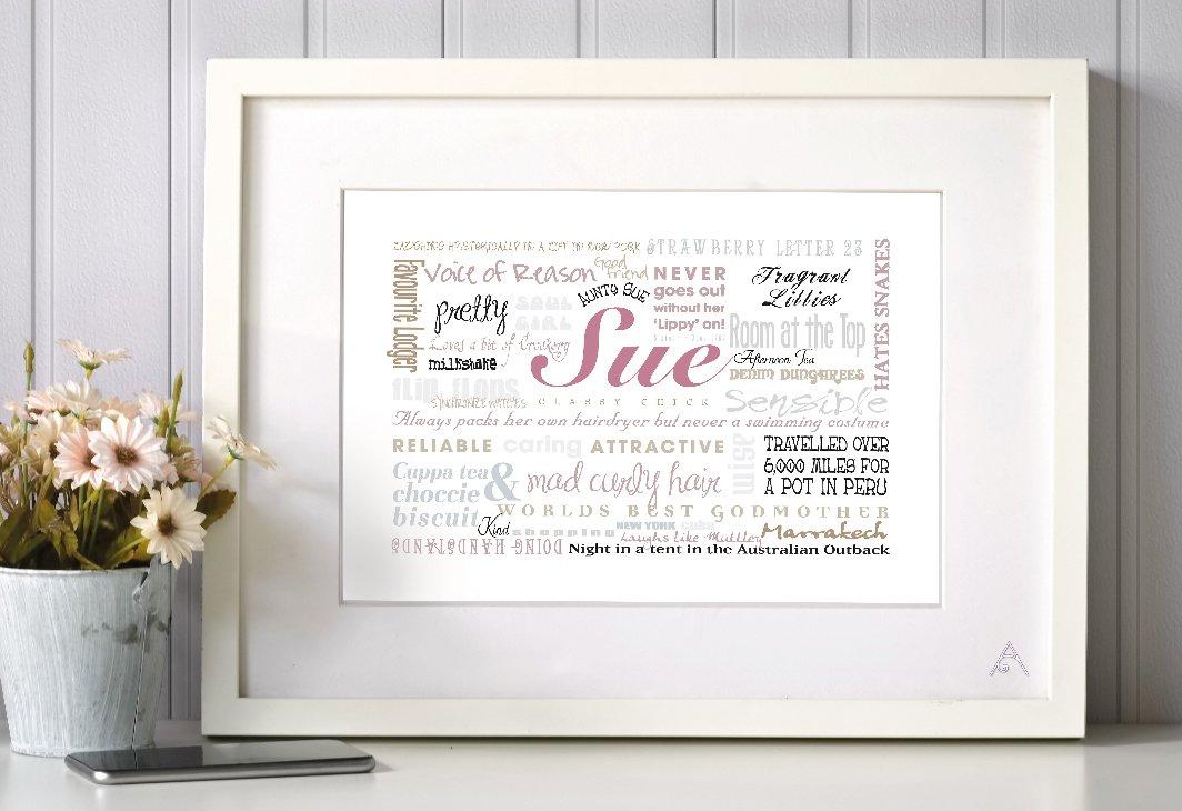 word art frame