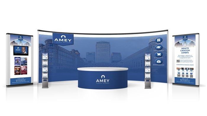 AMEY FINANCE EXHIBITION STAND