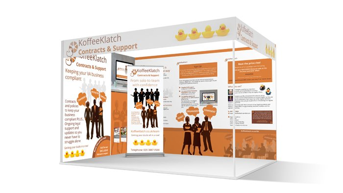 KoffeeKlatch exhibition stand