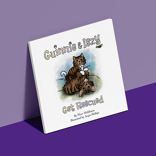 Guinnie & Iszy book
