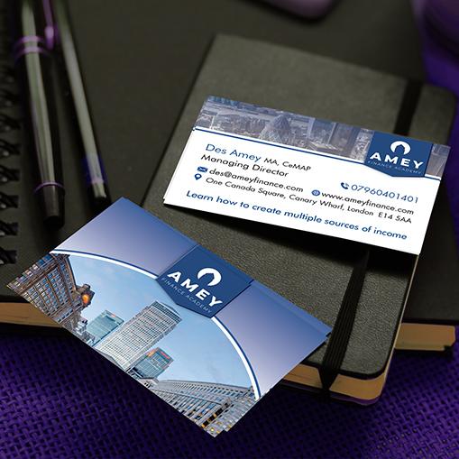 Amey finance business card